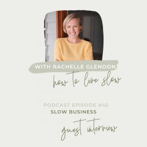 Rachelle Glendon How To Live Slow