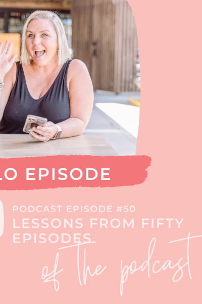 Lessons from 50 episodes of podcasting